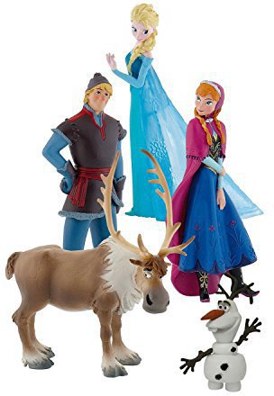 Bullyland Disney Die Eiskönigin - Figuren-Set
