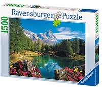 Ravensburger Puzzle 16341 Bergsee mit Matterhorn