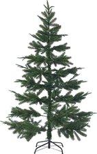 infactory Künstlicher Weihnachtsbaum 180 cm1071 PE-Spitzen Ständer grün
