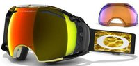 Oakley Airbrake Snow - Ampd Orange
