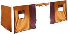 Dolphin Furniture Vorhang für Hochbett