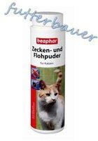 Beaphar Zecken und Flohpuder für Katzen (100 g)