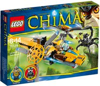 LEGO Legends of Chima - Lavertus Löwen-Jet (70129)
