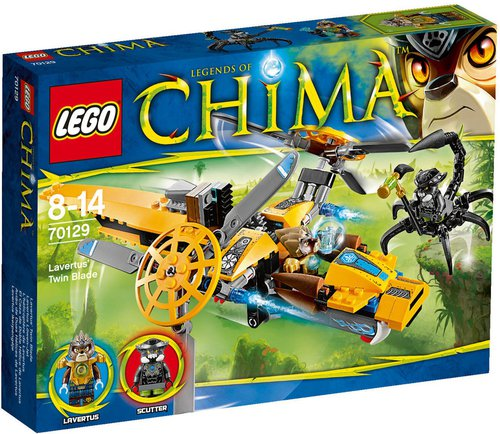 LEGO Legends of Chima - Lavertus Löwen-Jet (70129)