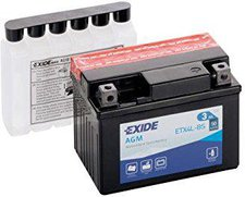 Exide Bike AGM 12V 3Ah YTX4L-BS