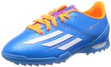 Adidas F10 TRX TF J solar blue/solar zest/running white