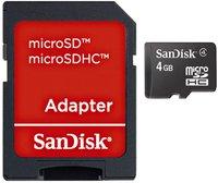 SanDisk microSDHC 4GB Class 4 (SDSDQB-004G-B35)