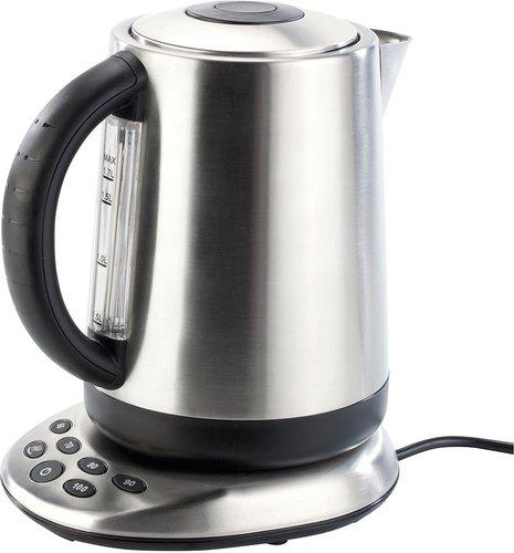 Rosenstein Edelstahl-Wasserkocher Premium mit Temperaturwahl