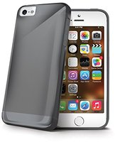 Celly Cover Gelskin TPU schwarz (iPhone 5)