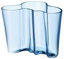 iittala Alvar Aalto Vase (120 mm) hellblau