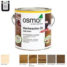 Osmo Hartwachs-Öl Farbig Graphit 3074 (2,5 l)