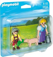Playmobil Country - Duo Pack Bäuerin und Junge (5514)