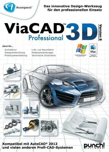 punch! Software ViaCAD 3D 9 Professional (DE) (Win/Mac)