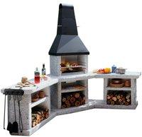 Well Fire Toskana Quatro Außenküche