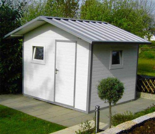 NWS Gartenhaus Satteldach 200 x 400 cm (Stahl)