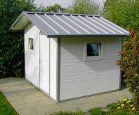 NWS Gartenhaus Satteldach 250 x 300 cm (Stahl)