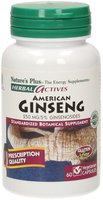 Nature's Plus Amerikanischer Ginseng 250 mg Kapseln (60 Stk.)