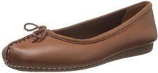 Clarks Freckle Ice brown