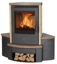 Fireplace Sitzbank für Kaminofen Passat Keramik Eckversion