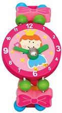 Bino Fee rosa Holzarmband Uhr