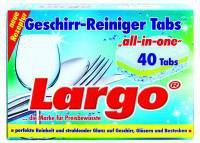 Weco Largo Geschirr-Reiniger 7 in 1 (40 x 20 g)
