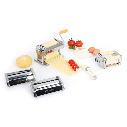 Klarstein Pasta Maker Nudelmaschine 3 Aufsätze