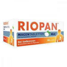 Dr. Kade Riopan Mint Magentabletten Kautabletten (100 Stk.)