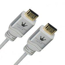 BananaGold Travel-Line HDMI High Speed mit Ethernet weiß (2,0m)