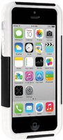Amzer Double Layer Hybrid Case with Kickstand Black/White (iPhone 5C)