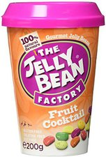 The Jelly Bean Facto Cup of Fruit Cocktail Gourmet Jelly Beans (200 g)