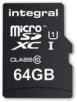 Integral microSDXC UltimaPro 64GB Class 10 UHS-I (INMSDX64G10-40U1)