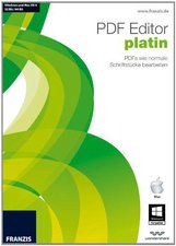 Franzis PDF Editor Platin (DE) (Win/Mac)