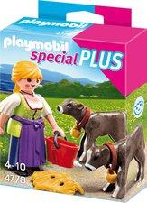 Playmobil Special Plus - Bäuerin mit Kälbchen (4778)