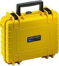 b-w Outdoor Case Typ 1000 leer gelb