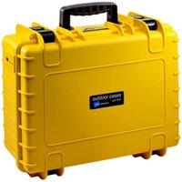b-w Outdoor Case Typ 500 leer gelb