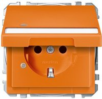 Merten Schukosteckdose, orange MEG2313-4002