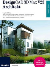 Franzis DesignCAD 3D Max V23 Architekt (DE) (Win)