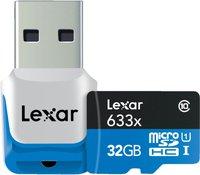 Lexar microSDHC High Performance 32GB Class 10 (LSDMI32GBBEU633R)