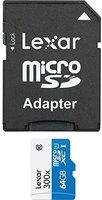 Lexar microSDXC High Performance 64GB Class 10 (LSDMI64GBBEU300A)
