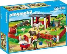 Playmobil City Life - Tierpflegestation mit Freigehege (5531)