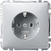 Merten Schukosteckdose, aluminium MEG2301-4060