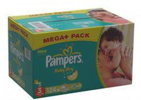 Pampers Baby Dry Midi Gr. 3 (4-9 kg) 124 St