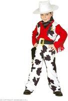 Widmann Kinderkostüm Cowboy Kuhmuster