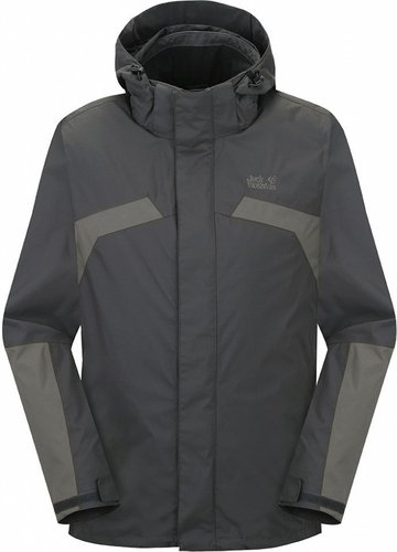 Jack Wolfskin Topaz II Jacket Men Black