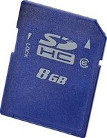 Hewlett Packard HP 8GB SDHC Class 6
