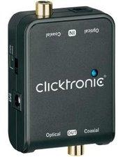 Clicktronic 60834 TOSLINK/Koax Audio-Konverter