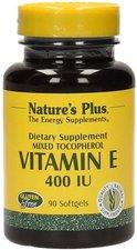 Nature's Plus Vitamin E 400 IU Mixed Tocopherol Softgels NP (90 Stk.)