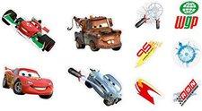 Decofun Miniwanddekorationen 10 Stück Cars (24163)