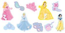Decofun Princess Jewels 10 Stück Miniwanddekorationen (24111)