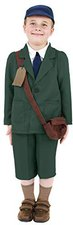 Smiffys Zweiter Weltkrieg Flüchtlingsjunge Kostüm